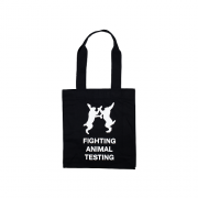 Fighting Animal Testing Canvass  Bag