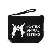 Fighting Animal Testing Cosmetic Pouch